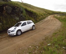 Ligato testeó el Chevrolet Agile Maxi Rally